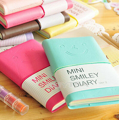 Excellent Lovely Diary Notebook Memo Portable Cute Smiling Face Paper Note TSCA