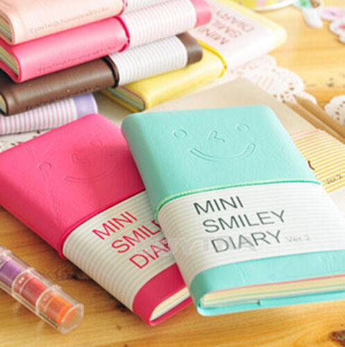 Tagebuch-Notizbuch-Memo-tragbares Minilächeln-Papier U*