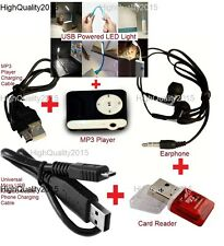 6 in 1 Combo | MP3 Player | Card Reader | USB Powerd LED Light | USB Cable etc..