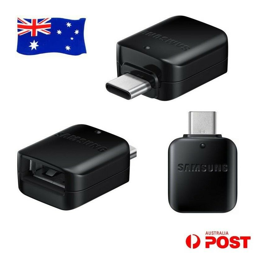 Original Genuine Samsung Galaxy A21S A71 A51 USB Type-C OTG Connector Adapter AU