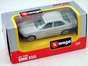 B-burago-4158-BMW-535i-1-43-Die-Cast-Made-in-Italy-modellismo-statico