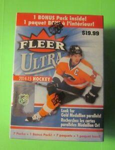 2014-15-Upper-Deck-Fleer-Ultra-Hockey-Factory-Sealed-Box