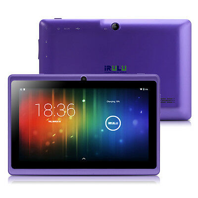 """iRULU eXpro X1 New 7"""" Android 6.0 1GB/8GB Blue Tablet Quad Core HD Screen GMS"""