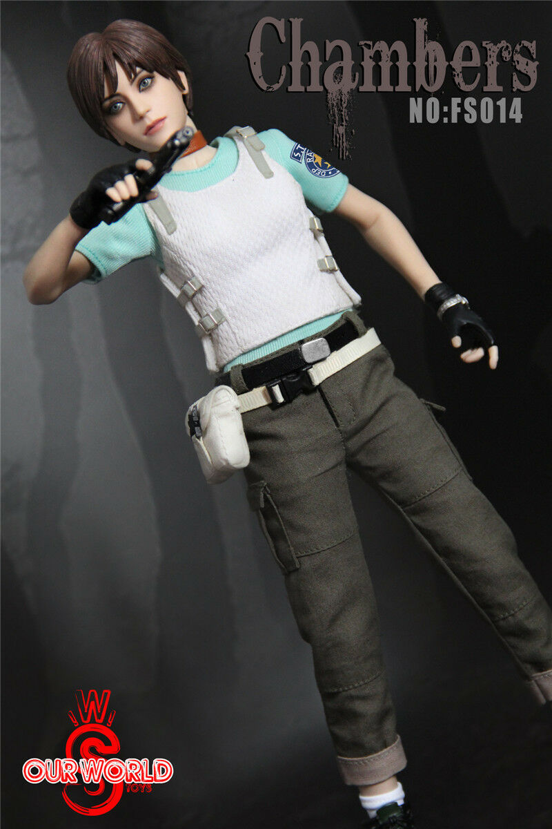 ' Female cifra 1 6 SW SW SW ourworld FS014 Rebecca Chambers Resident Evil collection a6d4ea