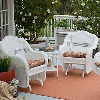 Coral Coast Casco Bay Resin Wicker Outdoor Glider Chair