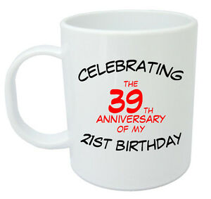 Details About Celebrating 60th Mug