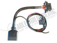 Obd2 Cable 16 Pin Male Female Obd Ii Pass Thru 2c Power/ground Wires For Device