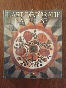 L'Art décoratif à Venise - Doretta Davanzo Poli - Place des Victoires