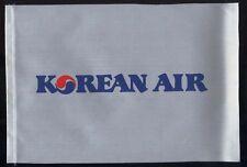 Korean Air fabric one side desk flag pennant new (no stand) box003