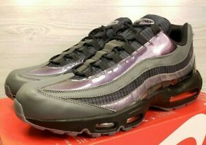 separation shoes 7f7db e2140 Image is loading Nike-Air-Max-95-LV8-Ember-Glow-Black-