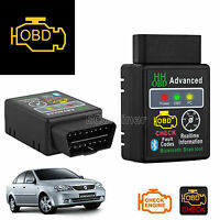 Obd2 Elm327 Advanced Bluetooth Android Torque Car Auto Diagnostic Scanner Tool