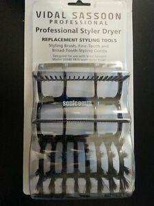 Vidal Sassoon Professional 1875 Styler Dryer Comb