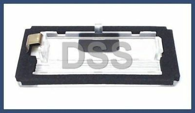 Cabrio License Plate Light Lens Covers Set of 2  51138244336 New BMW E46 Coupe