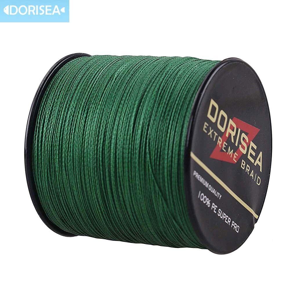 Power Dorisea 109yds2187yds 10LB-100LB Moss Green Dyneema Braided Fishing Line