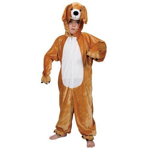 Childrens Fancy Dress Up Halloween Costume Puppy Dog 5 - 6 years