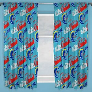Image Is Loading DISNEY CARS 3 LIGHTNING READYMADE CURTAINS 54 034