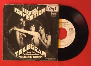 Silver-Convention-Telegram-MB10972-Vg-Vinyl-45T-Sp