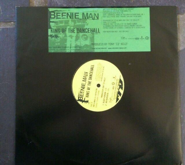 "Beenie Man ~ King Of  the Dancehall ~ 12"" promo import ~ Reggae ~ 2004"