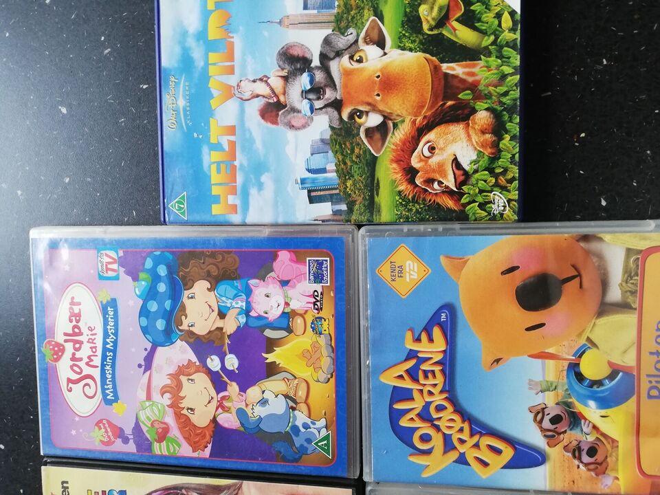 Div børn film, DVD, andet