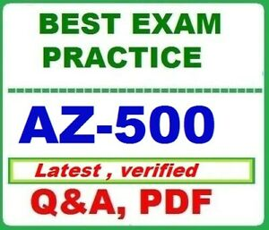 AZ-500-BEST EXAM Practice Q&A - MS Azure Security Technologies-LATEST