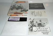 "RARE Tandy 1000 IBM 5.25"" Disk PC Game JACKAL! Konami Classic! Complete CIB"