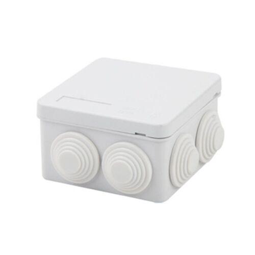 Waterproof Junction Box Plastic Electric Enclosure Case 85x85x50mm