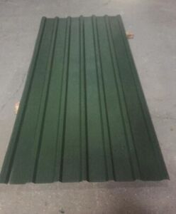 Cheap Steel Metal Box Profile Dark Green Roofing Cladding 7FT Long Roof Sheets