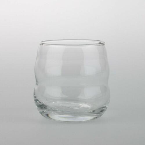 Natures Designs Glas mit Blume des Lebens Mythos Platin