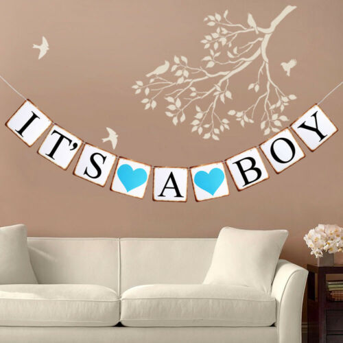 Happy Birthday Bunting Banner Flag Perfection Garland Party Decor Baby Boy Girl
