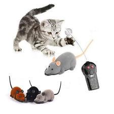 Fernbedienung RC Elektronisch Ratte Maus Spielzeug Für Katzen Hunde Spielen