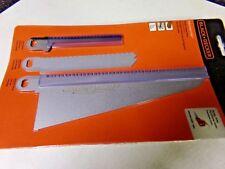 BLACK+DECKER 74-598 Navigator Combo Set 3-Piece Blade set for Handsaw