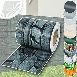 Rouleau PVC brise-vue pare-vent pour clôture terrasse jardin | eBay
