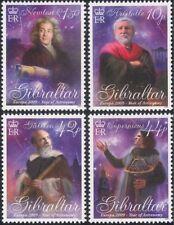 Gibraltar 2009 Europa/Astronomy/Galileo/Copernicus/Newton/Space/People 4v s662a