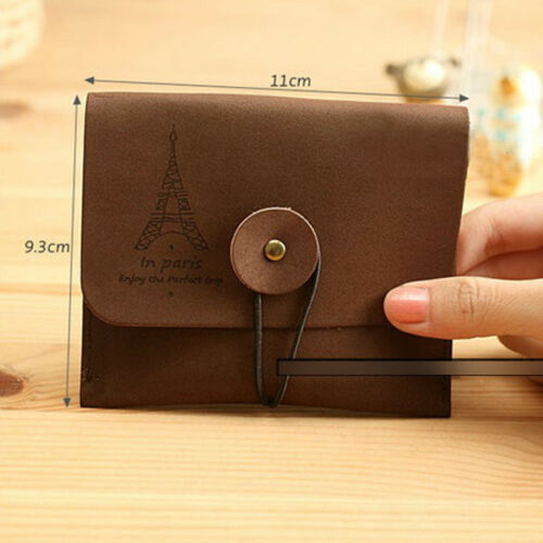 Small Vintage Retro Key Credit Card Coin Bag Purse Pouch Case Holder Wallet ER