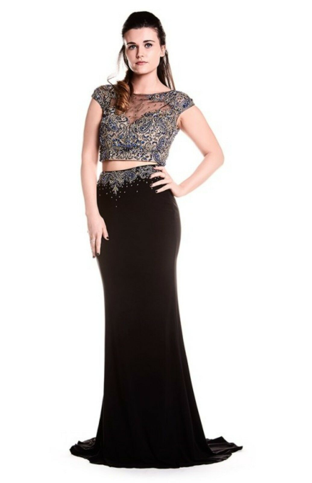 New with Tags. Designer 'Ruby' Formal Prom Dress  Size 6.  Only