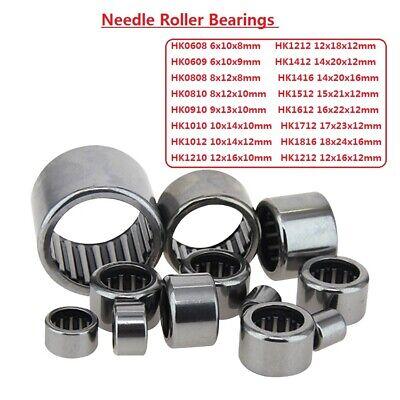 2 PCS 22x28x10mm 22mm x 28mm x 10mm HK222810 Needle Roller Bearing