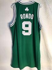 4283d7b9 Rajon Rondo adidas Boston Celtics Rev 30 Swingman Green Away Jersey ...