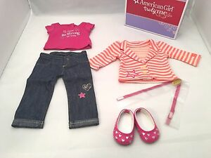 American Girl Truly Me Bright Stripes Outfit for Dolls NEW in Box