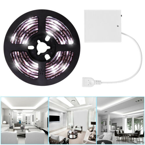 Battery Operated LED Strip Light USB LED Light Strip 1M//2M Indoor Outdoor Decor