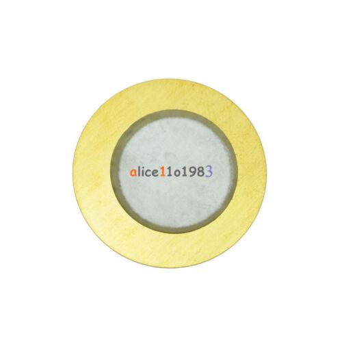 50PCS 20mm Piezo Elements Sounder Sensor Trigger Drum Disc 6.5KHZ  Copper