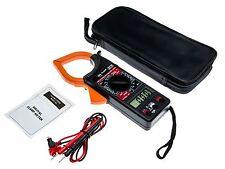 Digital Zangen Multimeter AC DC Zangenmessgerät Stromzange Zangenamperemeter Set