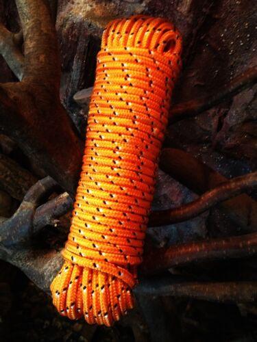 Nr.29 Oranges Ersatzseil 6 mm,30m,Kordel,Seil,Spannseil,Reep,Rope,Expanderseil.