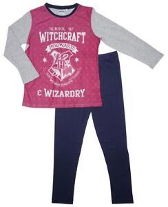 Precio de fábrica 2019 diferentemente mejor precio Detalles de Oficial Niña Harry Potter Hogwarts School Of Brujería Pijamas 3  a 10 Años