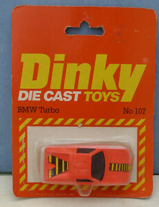 Dinky-Toys-Airfix-ownership-No-107-B-M-W-Turbo-2-door-Mint-Packaged