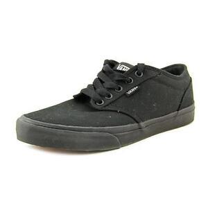 f96c3c119a VANS Atwood Mens Size 11 Black Textile Tennis Shoes UK 10