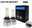 Car-Led-Headlight-Lamp-Bulb-High-Low-Beam-6000K-Light-Replacement-Bulbs-Head thumbnail 12