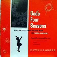 Scripture Press - God's Four Seasons LP VG+ L80P 4653 Vinyl Record