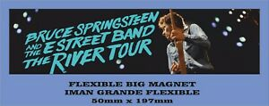 Bruce-Springsteen-the-river-tour-FLEXIBLE-BIG-MAGNET-IMAN-GRANDE