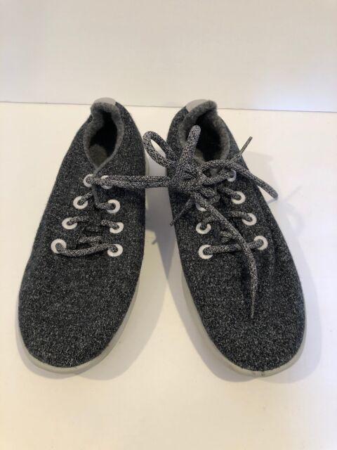 Natural Dark Grey Wool Runners