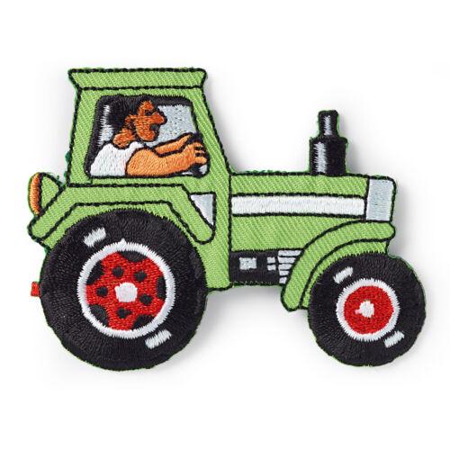 Prym aplicación pegatinas tractor aprox 6,0x7,0 cm verde tipo-nº 925363